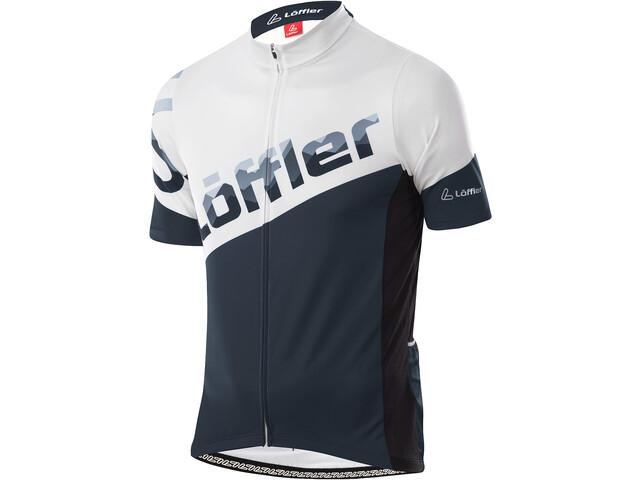 Löffler Messenger Full-Zip Bike Jersey Men onyx